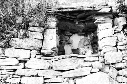 中国旧时土地庙