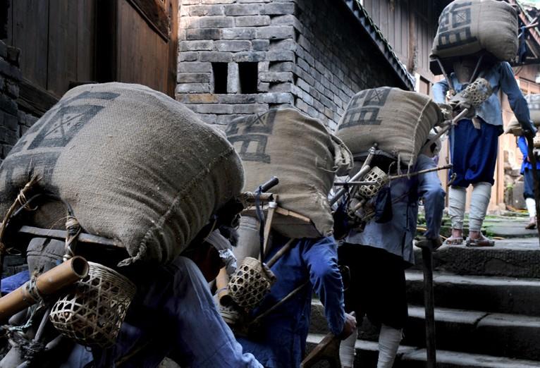 """重庆非遗石柱""""盐运民俗"""""""