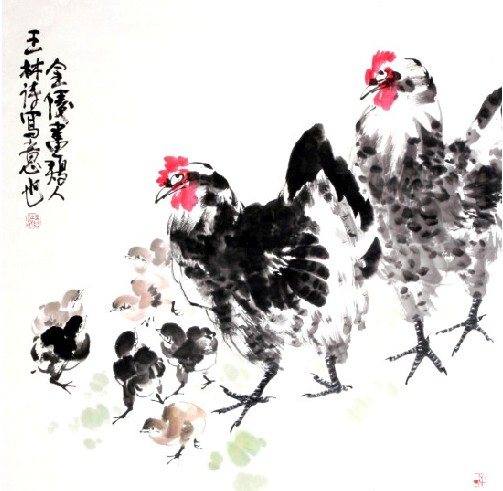 王林诗书画作品欣赏