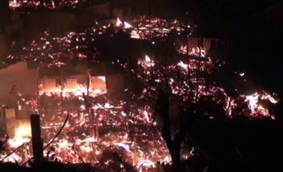 贵州300年历史古寨遭大火烧毁