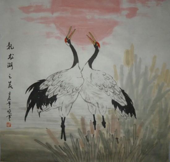 尹晓军国画作品欣赏