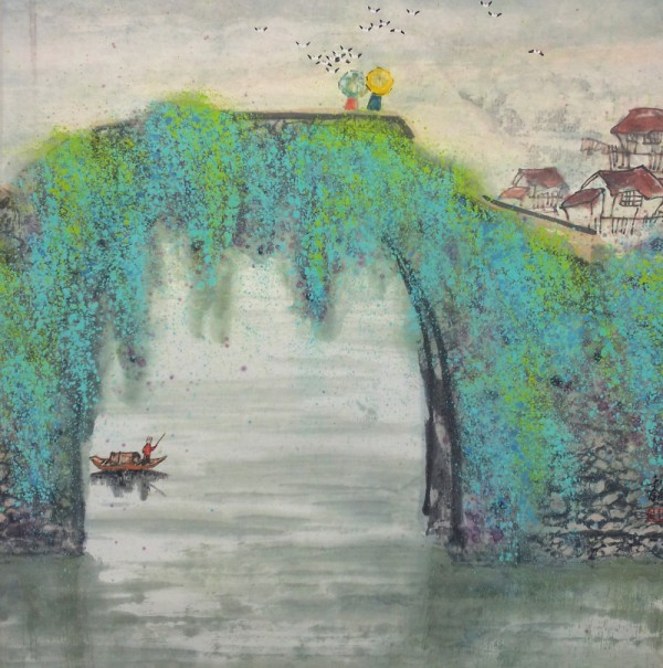 清秘阁花鸟画作品欣赏