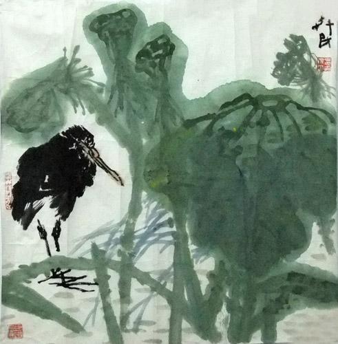 博古斋画廊花鸟画作品欣赏