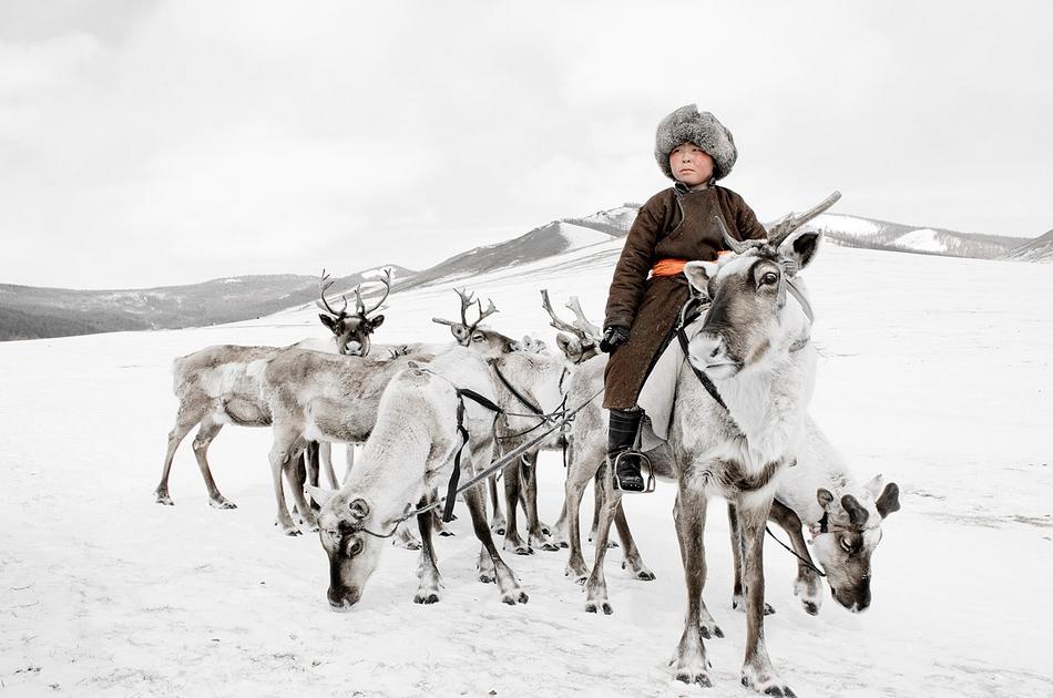 驯鹿人的冰雪高原情