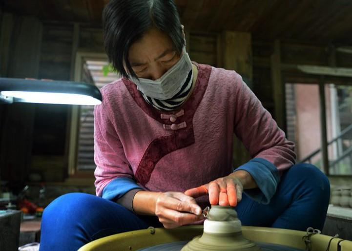 台湾古老的水里蛇窑
