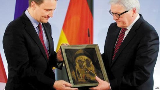 纳粹曾将30万份文物移至波兰 德国现欲换回贝多芬手稿