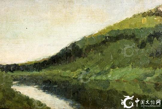五幅十九世纪俄罗斯风景画名家列维坦瑰丽杰作失窃