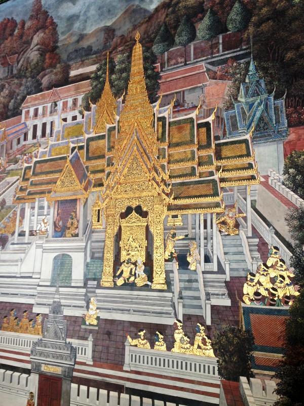泰国玉佛寺壁画艺术赏析