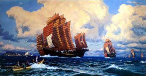从郑和下西洋话海上丝绸之路崛起