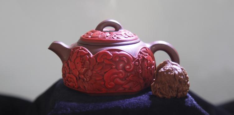典雅精美中国风:马宁核雕雕漆展