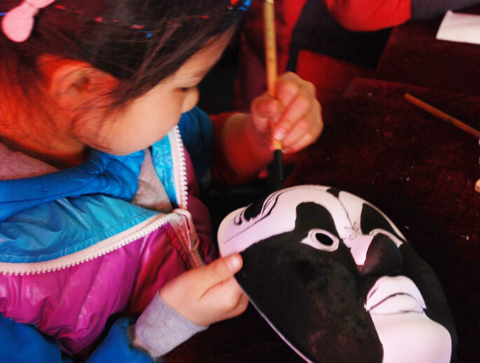北京绝活儿:绘脸谱