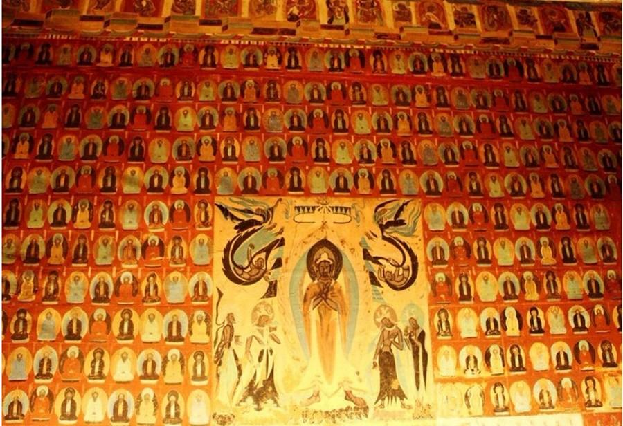 丝绸之路上的艺术瑰宝之敦煌壁画