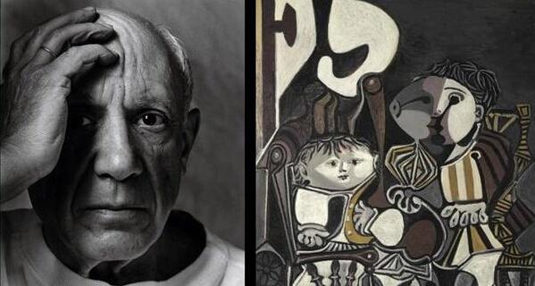 万达拍下毕加索名作《两个小孩》(图片来源于网络)图片