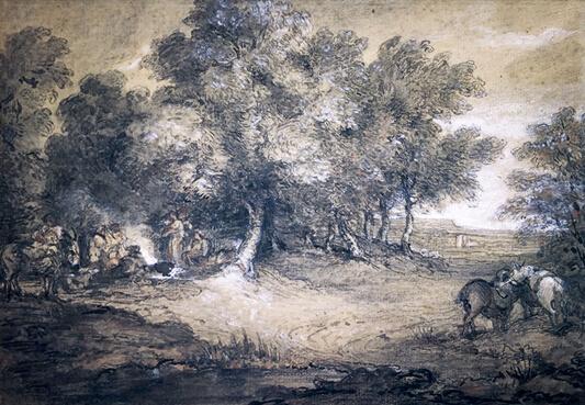 英国名家庚斯博罗风景画杰作将亮相班布里奇斯拍会