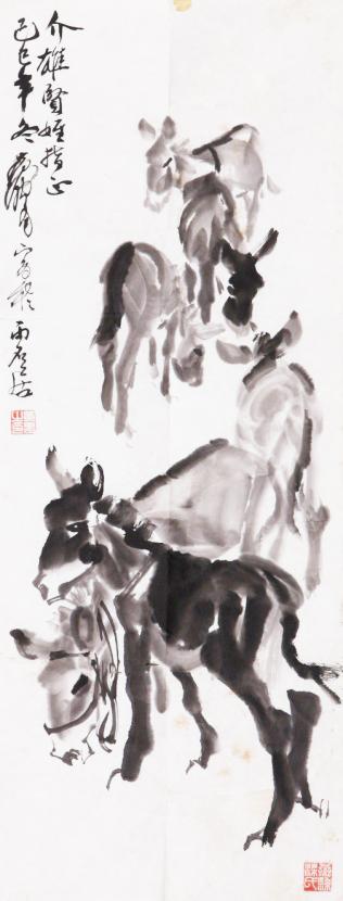 近现代国画大师们的动物情缘