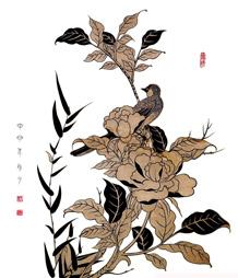 以纸为线画禅心——刘惠琴纸线雕画