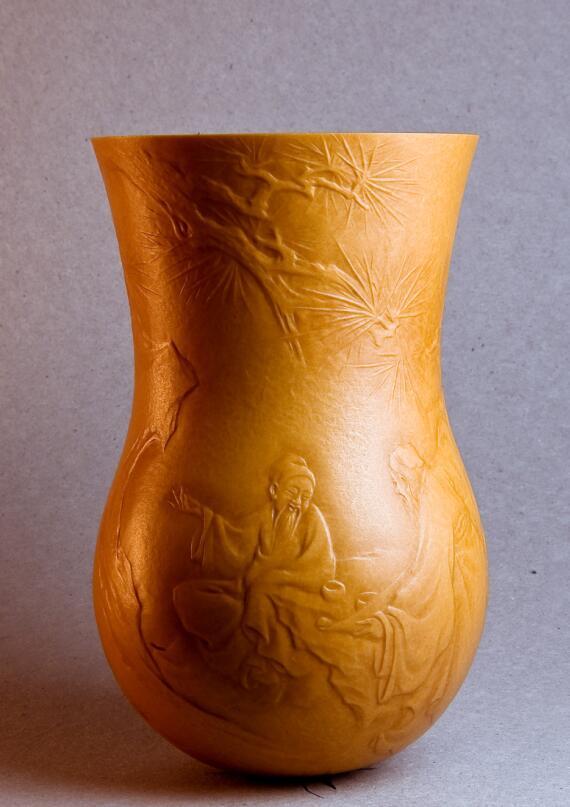 葫芦皮上押乾坤——盘点各式各样精美押花葫芦