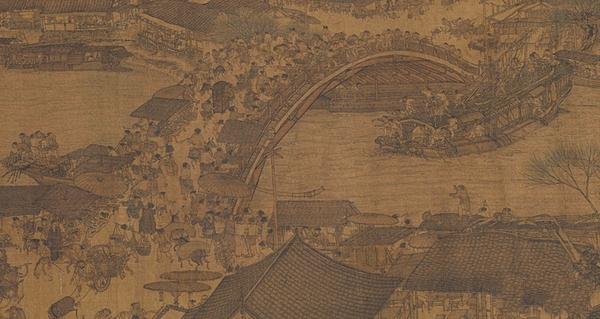千载繁华画中寻 《清明上河图》的经典传奇图片