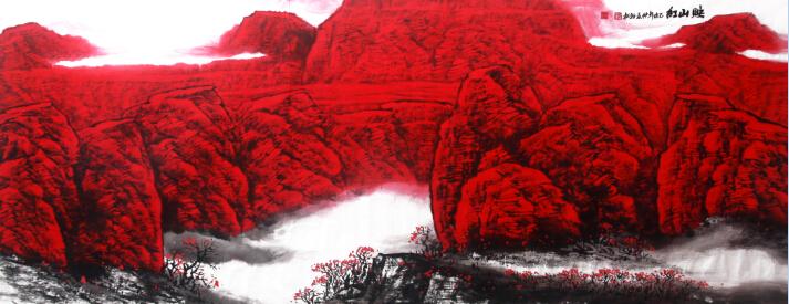 笔尖上的气象万千——看万山红遍,层林尽染