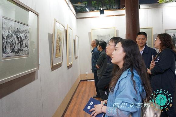 四川美术馆馆藏作品巡回展走进盐都