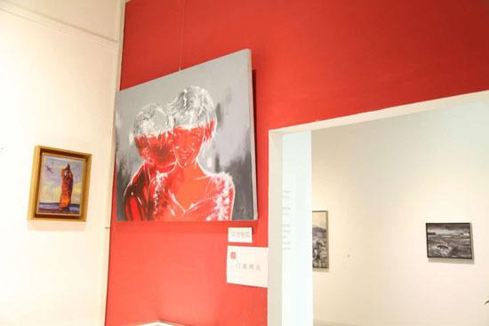武汉青年画家徐柏林油画作品在北京红鼎画廊展出