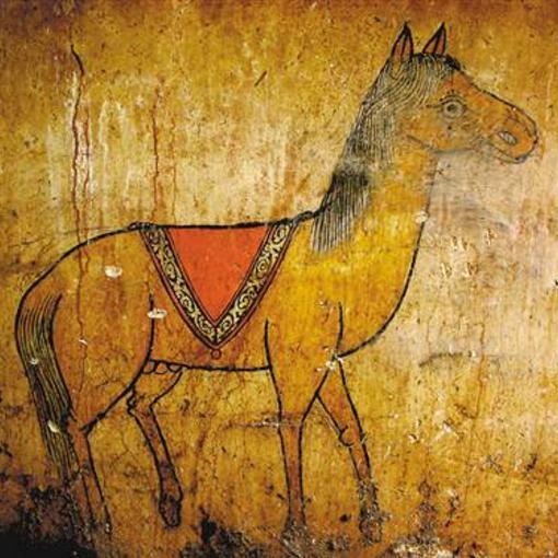 重庆发现明代壁画古墓遗址 色彩鲜艳如新绘