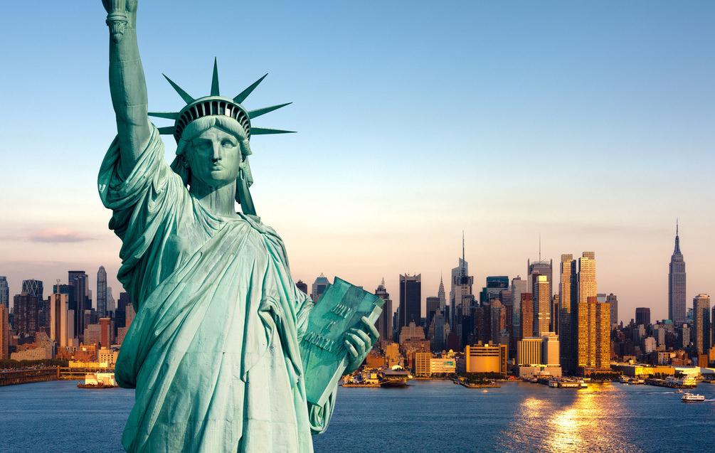 界十大经典雕塑作品赏析 自由女神像