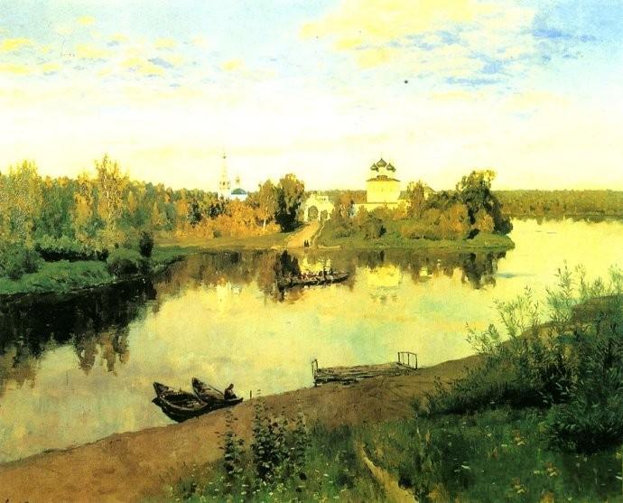 俄国画家列维坦风景油画作品赏析