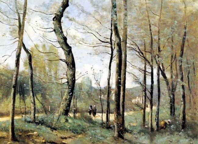 法国画家柯罗风景油画作品赏析