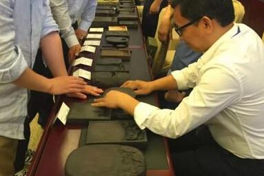 百名古砚爱好者聚首河北清河 800方古砚品读历史