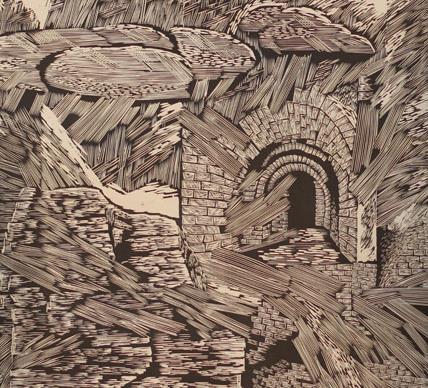 银川美术馆典藏岩画拓片、版画今日开展