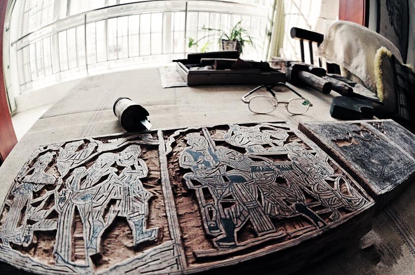 陕西凤翔木版年画重拾年俗的记忆