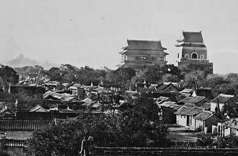 京城老照片:钟鼓楼沧桑的前世今生