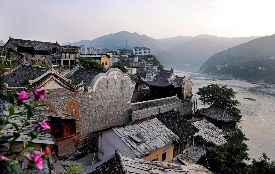 漢江之濱的蜀河古鎮