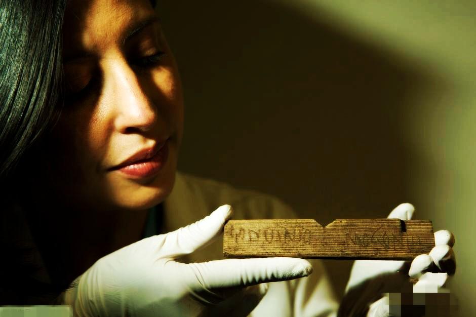英国最古老手写文件出土 距今近两千年
