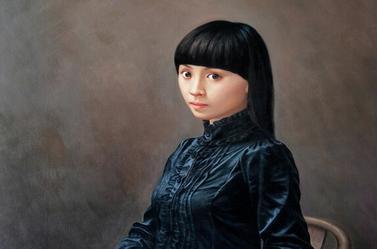 李丝云人物油画作品欣赏