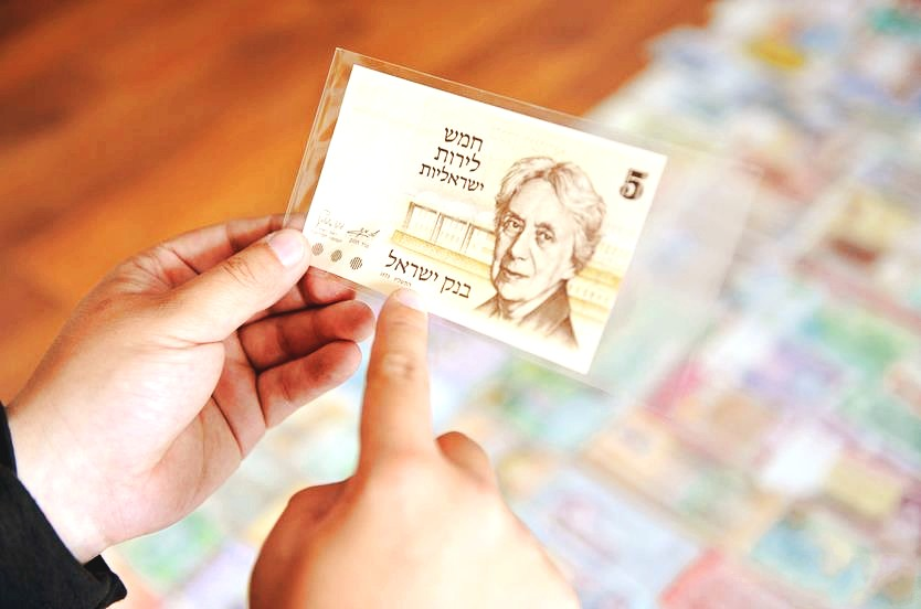 沈阳男子爱好收藏钱币 已收藏160余国钱币