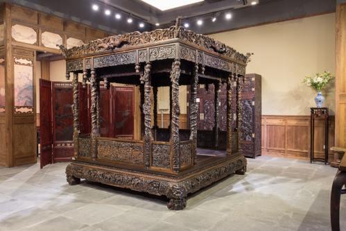 发展于人文的文化艺术家具,航管红木——把中华书画艺术的巅峰之作