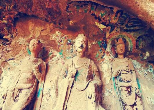 全國重點文物保護單位武山水簾洞石窟