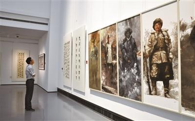 苏州美术馆书画再现光辉历程