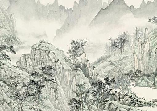 张金富青城山系列书画作品