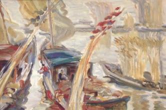 安德烈·戚培根的水彩畫