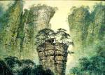山魂•陈庆珠风景油画作品