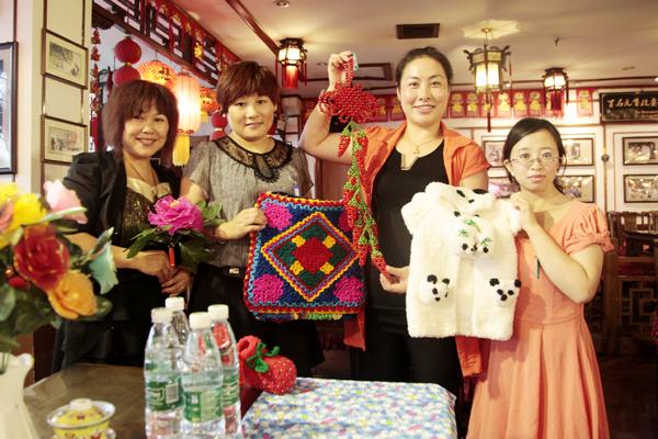 京城巧娘谁最棒 手工编织比高低