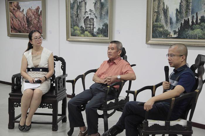 华庆:书画市场萧条之下 创作更要回归艺术本身
