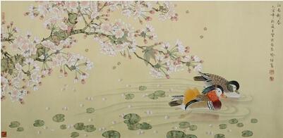 翰墨雅韵:在秋意微凉之际看春花灿烂