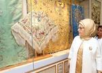 土耳其总统夫人参观中国丝绸博物馆