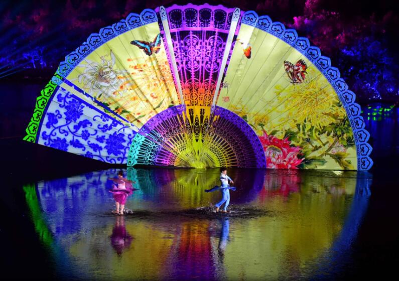 G20峰会西湖巨型彩扇惊艳全球之后 扒一扒中国扇背后的故事