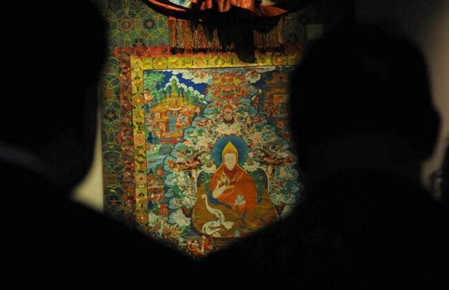 百余件布达拉宫精品文物展出