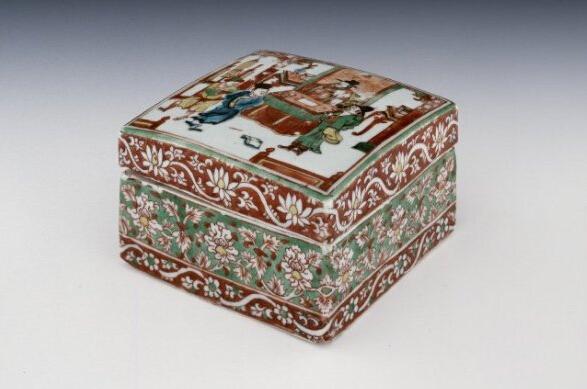 大英博物馆藏明嘉靖五彩瓷器